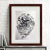 Картины и панно handmade. Livemaster - original item Black and white painting