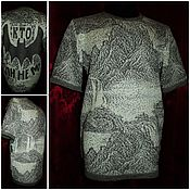 Одежда handmade. Livemaster - original item 100% linen yarn .T-shirt