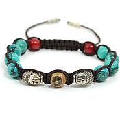 Украшения handmade. Livemaster - original item Shamballa bracelet