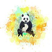 """Дизайн ручной работы. Ярмарка Мастеров - ручная работа Иллюстрация """"Панда"""". Handmade."""
