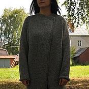Одежда ручной работы. Ярмарка Мастеров - ручная работа Кардиган из плотной шерсти. Handmade.