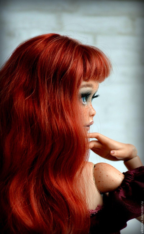 Смотреть Коллекционные фарфоровые куклы ручной работы видео