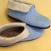 Обувь ручной работы. Ярмарка Мастеров - ручная работа Чуни цветные. Handmade.