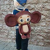 Сумки и аксессуары handmade. Livemaster - original item Mochila De Cheburashka. Handmade.