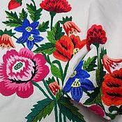 Материалы для творчества handmade. Livemaster - original item Lot of 2 pieces embroidered for creativity Vintage embroidery. Handmade.