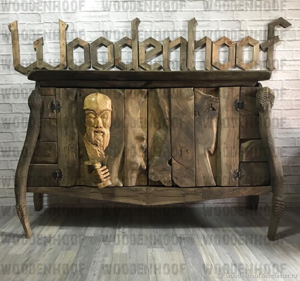 Unusual designer chest of drawers ' Vikings', Dressers, Moscow,  Фото №1