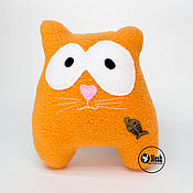 """Куклы и игрушки ручной работы. Ярмарка Мастеров - ручная работа мягкая игрушка кот """" Рыбак"""". Handmade."""