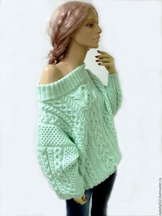 """Кофты и свитера ручной работы. Ярмарка Мастеров - ручная работа. Купить Вязаный свитер """"МЕЧТА"""" (в стиле :-)) аля Рубен)100%меринос. Handmade."""