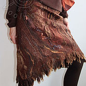 """Одежда ручной работы. Ярмарка Мастеров - ручная работа юбка """"Сибирские бизоны """". Handmade."""