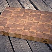 Посуда handmade. Livemaster - original item End cutting and serving Board. Handmade.