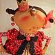 Коллекционные куклы ручной работы. Ярмарка Мастеров - ручная работа. Купить Капризка!. Handmade. Разноцветный, ткань