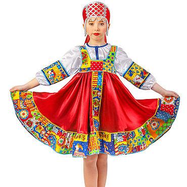 """Русский стиль ручной работы. Ярмарка Мастеров - ручная работа Костюм """"Кадриль"""". Handmade."""