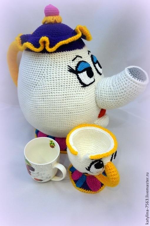Сказочные персонажи ручной работы. Ярмарка Мастеров - ручная работа. Купить Волшебный чайник. Handmade. Разноцветный, мультяшный, супер подарок