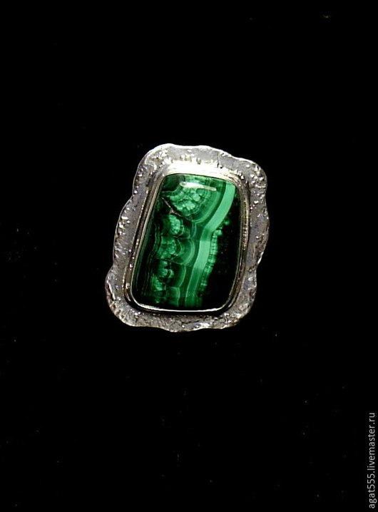 Кольца ручной работы. Ярмарка Мастеров - ручная работа. Купить перстень с малахитом (отложен). Handmade. Зеленый, кольцо с малахитом