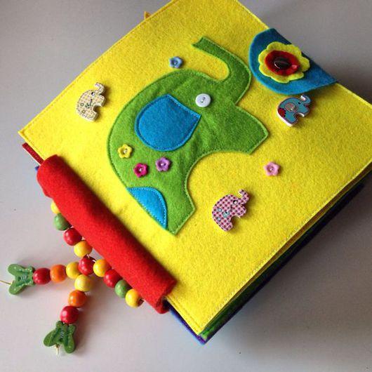 Развивающие игрушки ручной работы. Ярмарка Мастеров - ручная работа. Купить Развивающая книжка. Handmade. Развивающая игрушка, хлопок 100%