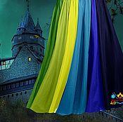 """Одежда ручной работы. Ярмарка Мастеров - ручная работа Разноцветная юбка в пол 12-клинка """"Волшебная сказка"""". Handmade."""