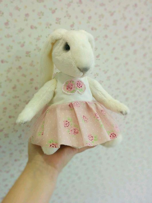 """Мишки Тедди ручной работы. Ярмарка Мастеров - ручная работа. Купить Кролик тедди """" Зефирка"""". Handmade. Кролик, холофайбер"""