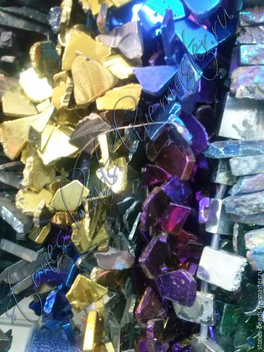 Для украшений ручной работы. Ярмарка Мастеров - ручная работа. Купить Гематит кусочки, для подвесок.. Handmade. Разноцветный, натуральные камни