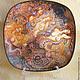 Подвески ручной работы. Ярмарка Мастеров - ручная работа. Купить Декоративная тарелка Девы. Handmade. Декупаж, фарфоровая тарелка