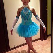 Одежда ручной работы. Ярмарка Мастеров - ручная работа Платье для фигурного катания Балерина. Handmade.