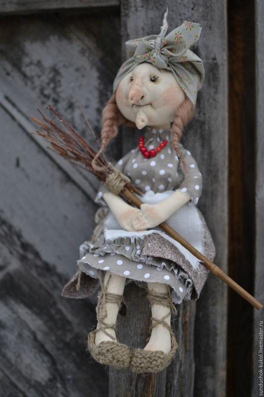 Сказочные персонажи ручной работы. Ярмарка Мастеров - ручная работа. Купить Баба Яга. Handmade. Серый, сказочный персонаж