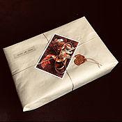 Сувениры и подарки handmade. Livemaster - original item packaging with a postcard. Handmade.