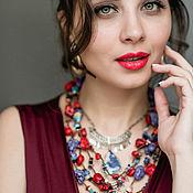 Винтаж handmade. Livemaster - original item Unforgettable you. Ethnic necklace. USA.. Handmade.
