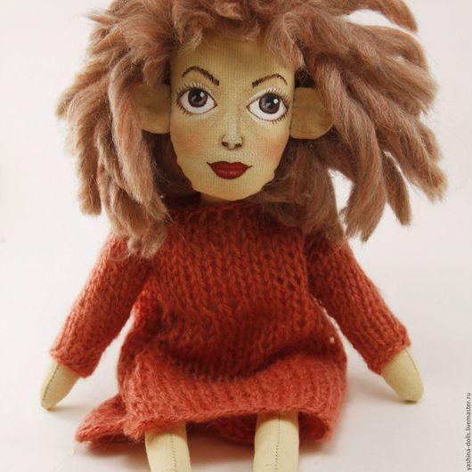 Коллекционные куклы ручной работы. Ярмарка Мастеров - ручная работа. Купить Текстильная кукла от Яшиной Анастасии. Handmade. Авторская кукла