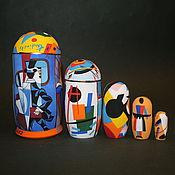 Русский стиль handmade. Livemaster - original item matryoshka russian avant-garde. Handmade.