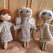 Куклы и игрушки ручной работы. Ярмарка Мастеров - ручная работа Ангел с ладошку в дорожку.. Handmade.