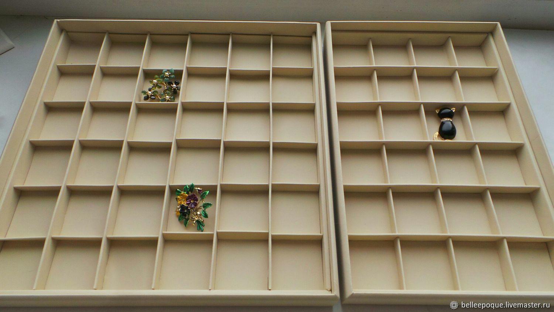 Цена снижена! Остались последние! Планшеты для украшений 24 ячейки, Органайзеры, Санкт-Петербург,  Фото №1