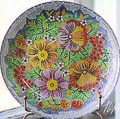 Посуда handmade. Livemaster - original item Plate from the series