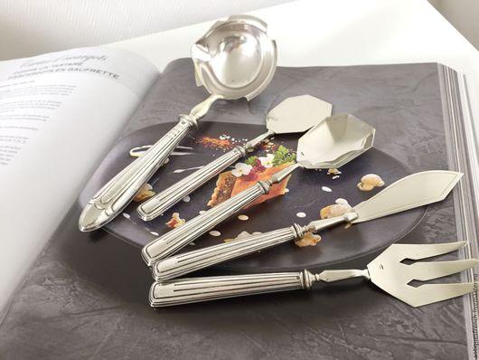Винтажная посуда. Ярмарка Мастеров - ручная работа. Купить Серебряная ложка для соуса Lefebvre et Picard. Handmade. Столовое серебро