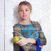 """Одежда ручной работы. Ярмарка Мастеров - ручная работа Платье  """"Бирюсинка"""". Handmade."""
