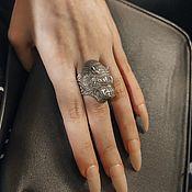 Винтаж handmade. Livemaster - original item Tibetan Ring Ring Happy Tiger. Handmade.