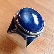 Украшения ручной работы. Ярмарка Мастеров - ручная работа Перстень с сапфиром. Handmade.