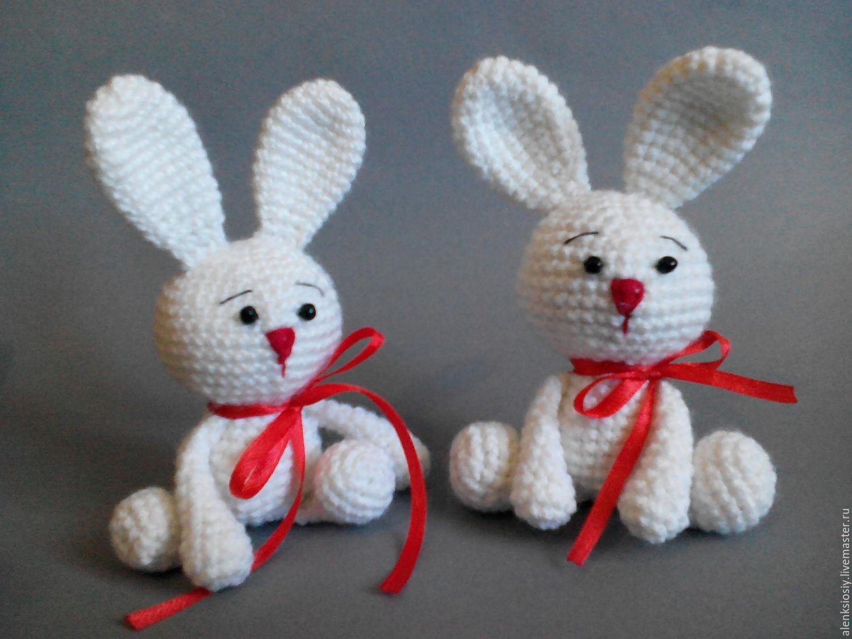 Игрушки из ниток для вязания