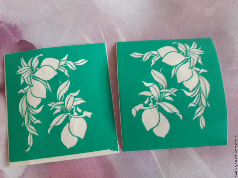 Copy of Copy of Copy of Copy of stencils adhesive, Stencils, Orel,  Фото №1