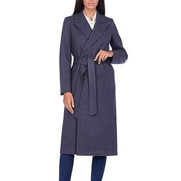 Одежда ручной работы. Ярмарка Мастеров - ручная работа Классическое пальто теплое 23П. Handmade.