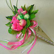 Цветы и флористика ручной работы. Ярмарка Мастеров - ручная работа букет в кульке. Handmade.