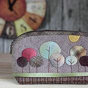Сумки и аксессуары handmade. Livemaster - original item Japanese coin Autumn forest. Handmade.