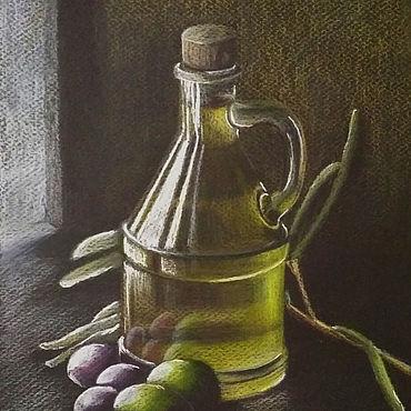 Картины и панно ручной работы. Ярмарка Мастеров - ручная работа Картины: Олива. Handmade.