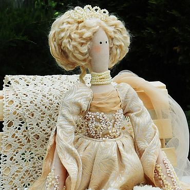 Куклы и игрушки ручной работы. Ярмарка Мастеров - ручная работа Кукла Тильда Стефания. Handmade.