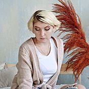 Кардиганы ручной работы. Ярмарка Мастеров - ручная работа Кардиган вязаный. Handmade.
