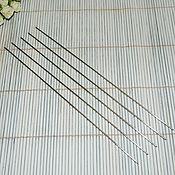 Материалы для творчества ручной работы. Ярмарка Мастеров - ручная работа Тонкие спицы 1,2  мм  для ручного вязания. Handmade.