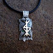 Фен-шуй и эзотерика handmade. Livemaster - original item Rune stav gold