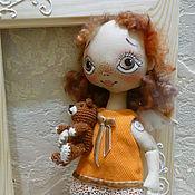 Куклы и игрушки ручной работы. Ярмарка Мастеров - ручная работа Ангел - осеннее настроение. Handmade.
