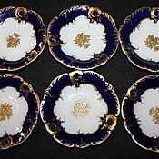 Винтаж handmade. Livemaster - original item A set of six plates of the