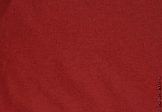 Шитье ручной работы. Ярмарка Мастеров - ручная работа. Купить ткань бязь премиум бордовый цвет. Handmade. Ткань