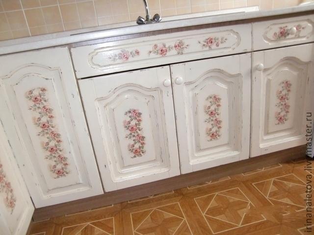 Декупаж тканью мебели своими руками